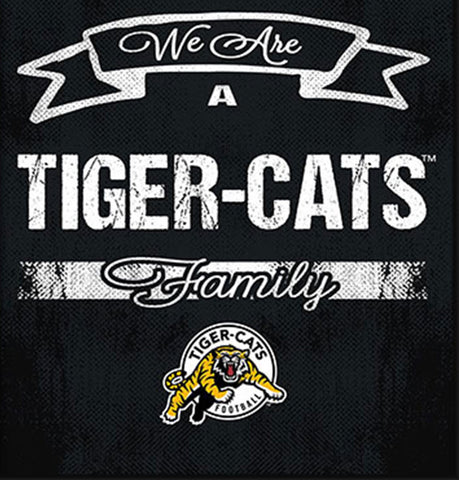 Hamilton Tiger Cats Family Cheer Framed Art