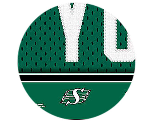 CFL Personalized Jersey Name Patch - Saskatchewan Roughriders