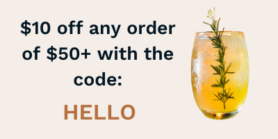 Use HELLO for $10 off orders of $50+