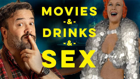 YouTube Thumbnail of Greg Titian with a Cocktail for the Movies & Censorship How To Drink Episode.