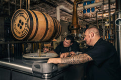 Black Button Distillery founders