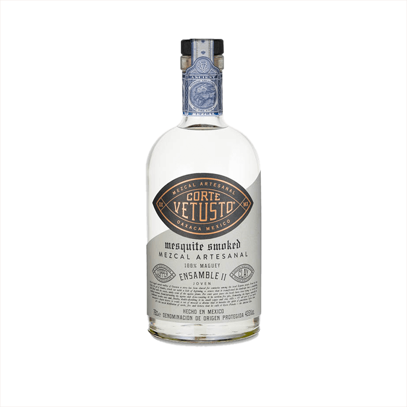 Bottle of Corte Vetusto Ensamble II Mezcal
