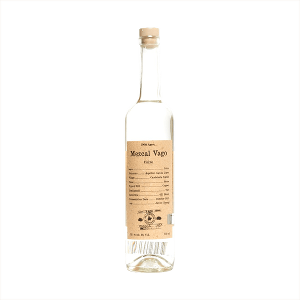 Bottle image of Mezcal Vago Cuixe