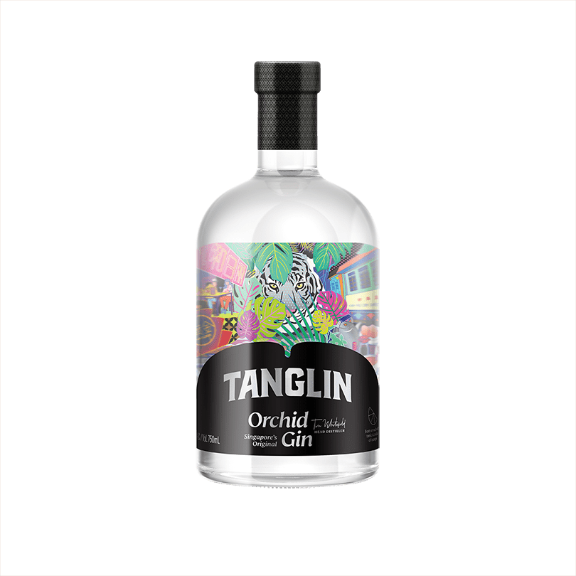 Bottle of Tanglin Orchid Gin