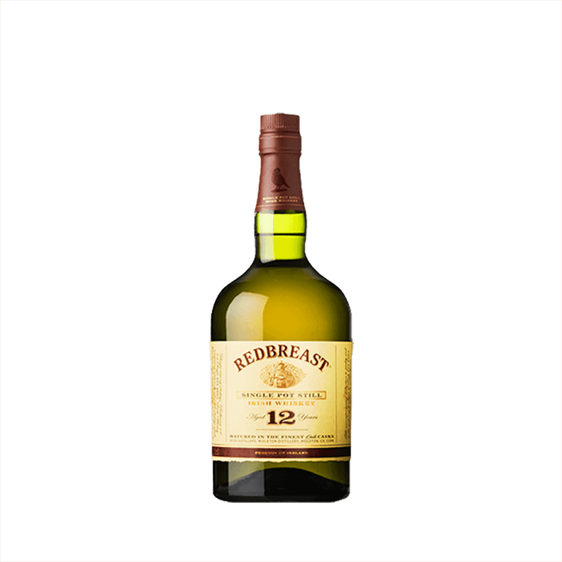 Bottle of Redbreast 12 Year Irish Whiskey