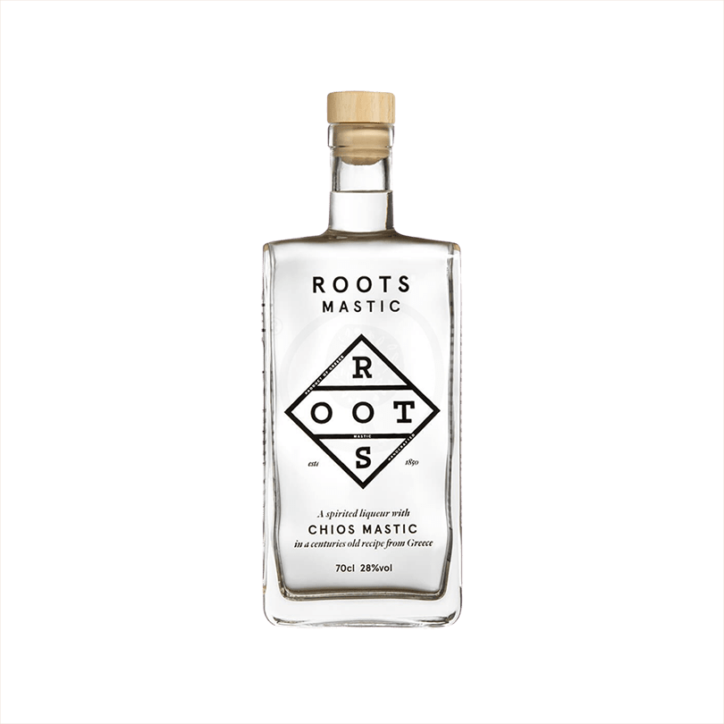 Bottle of Roots Chios Mastic Liqueur