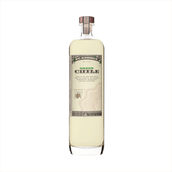 Bottle image of St. George Green Chili Vodka