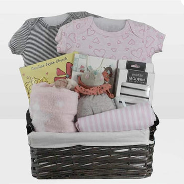 Mouse Baby Gift Basket