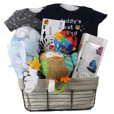 Owl Baby Gift Basket sold out