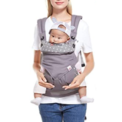 Baby Carrier, Adjustable & Breathable