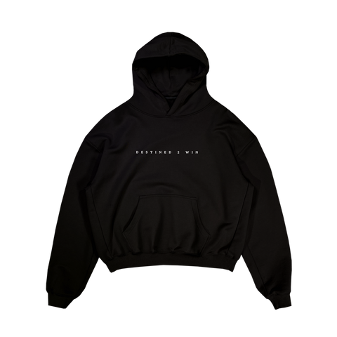 Destined 2 Win Hoodie Black