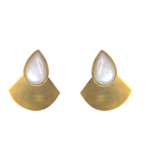 Kuda Plane Teardrop Earrings