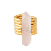 Load image into Gallery viewer, ZOE RING / PINK QUARTZ