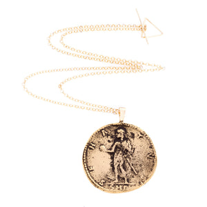 Greek Coin Necklace - Alexander the Great