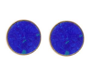 KUDA Damasco Earrings / Azurite