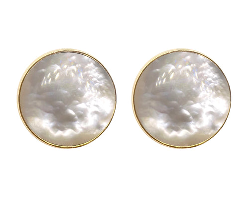 Damasco Earrings / Mother pearl