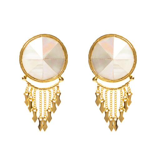 Moa Earrings / Mother Pearl