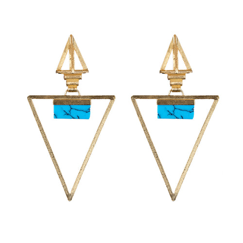 Kudna Earrings / Turquoise