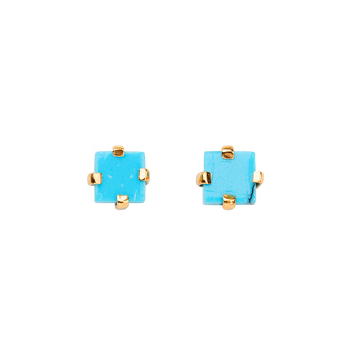 Shams Earrings / Turquoise
