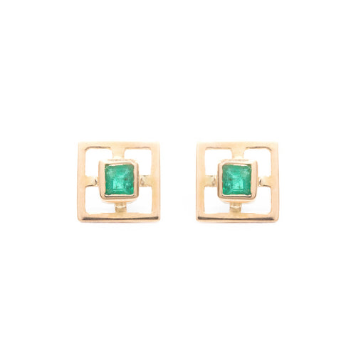 Dix Earrings / Square