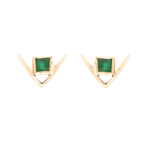 Dix Earrings / Triangle