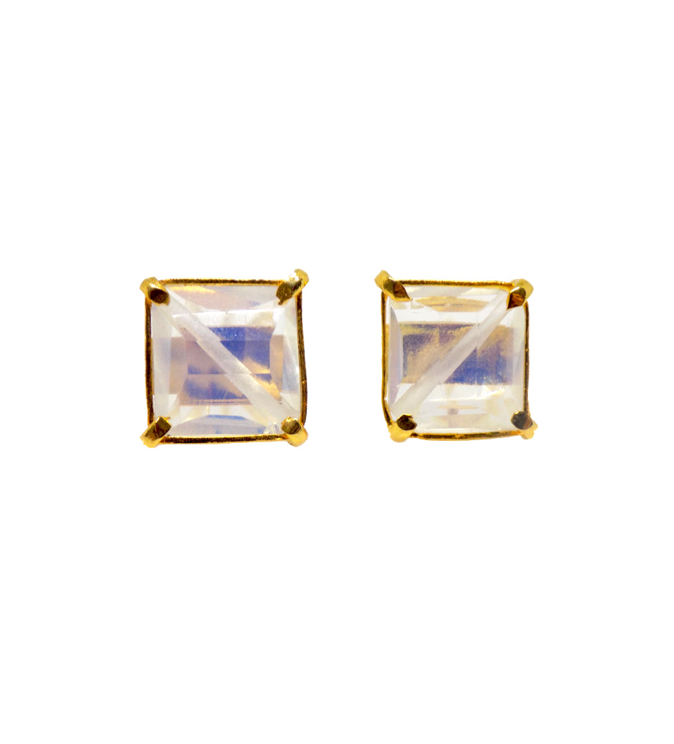 Shams Earrings / opaline