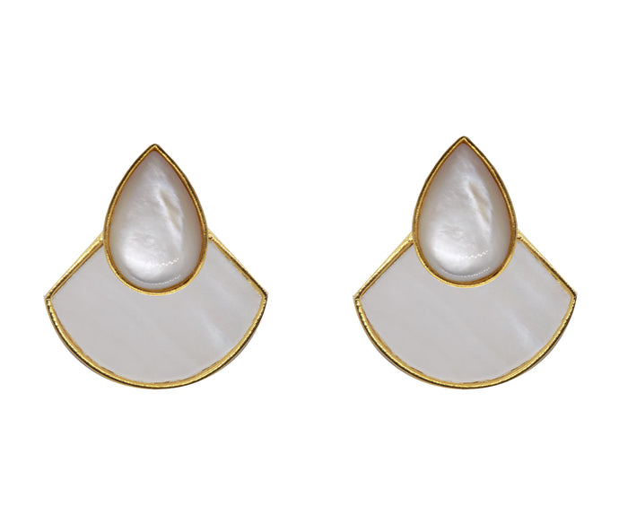 KUDA Earrings / Mother Pearl