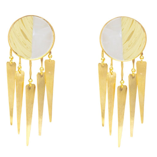Lion Jellyfish Earrings / middle