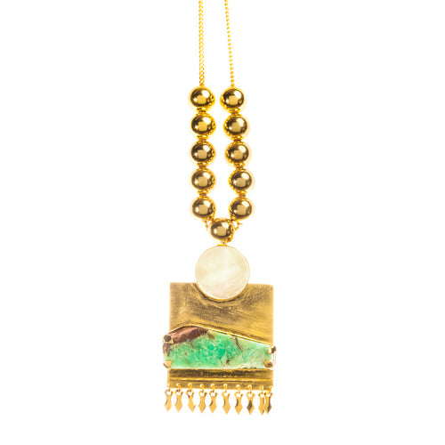 Teo Necklace Gld