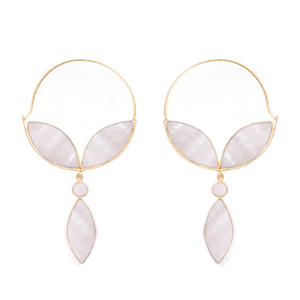 Alhya Earrings Mother Pearl