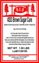 Load image into Gallery viewer, #203 Brown Sugar Cure
