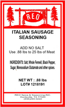 Load image into Gallery viewer, Italian Sausage Seasoning