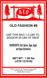 Old Fashion #8 Sausage Seasoning (Spicy)