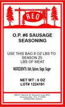 Load image into Gallery viewer, OP #6 Sausage Seasoning