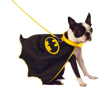 Load image into Gallery viewer, Pet - Batman Pet Cape with Light up Collar