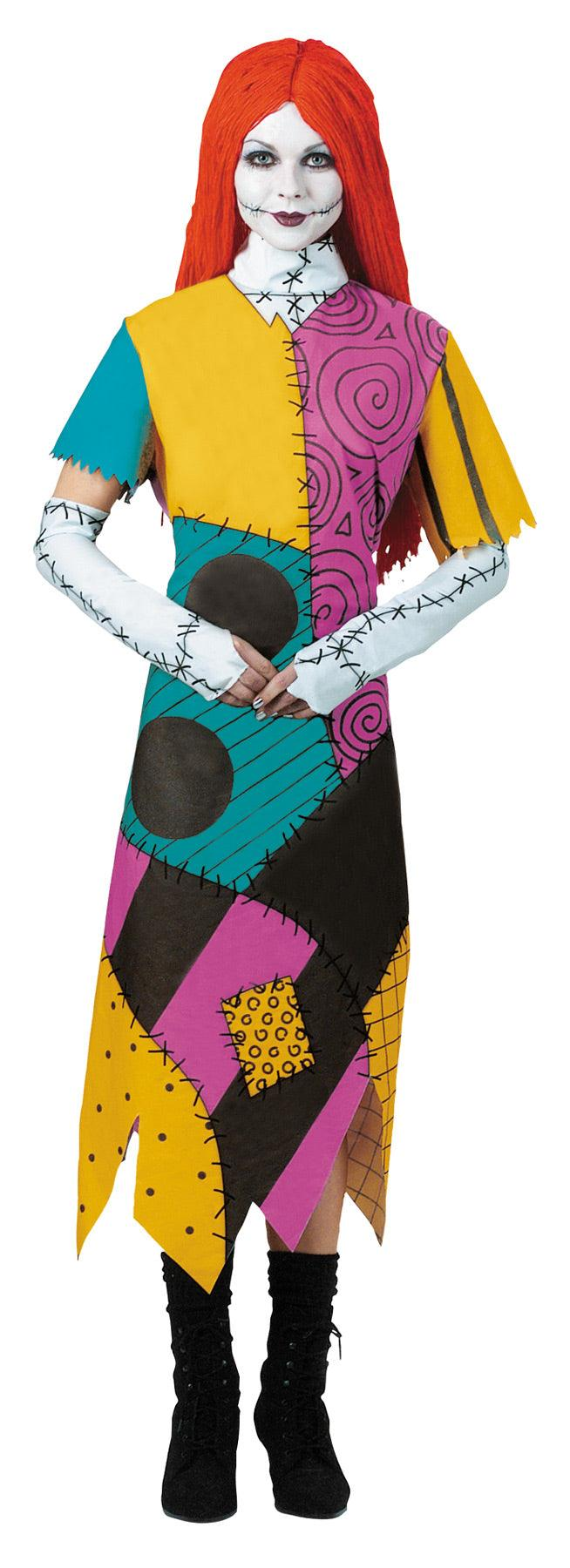 Adult - Sally Classic Costume - Nightmare Before Christmas