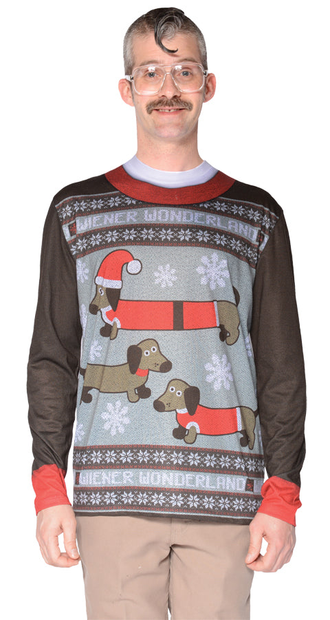 Ugly Weiner Wonderland Ugly Sweater T-Shirt