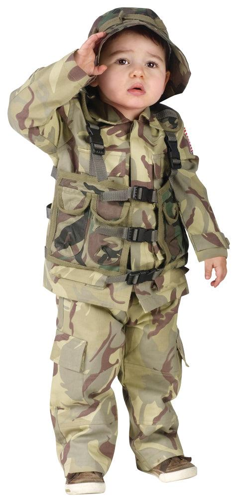 Toddler - Delta Force Authentic Costume
