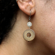 Charger l'image dans la galerie, Rhea Silver Earring With Long Disks