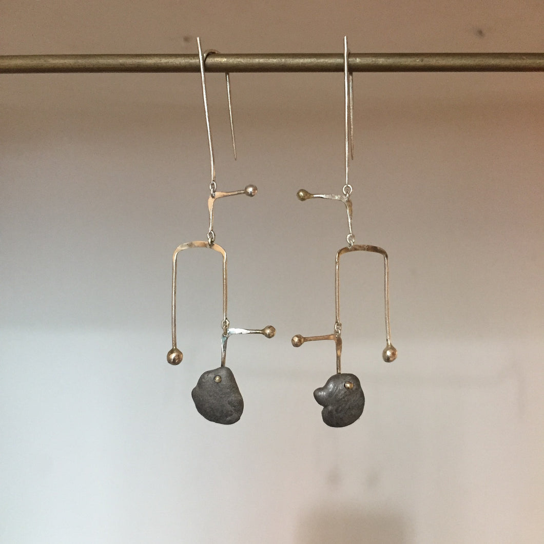 Calder Mobile U - Earring