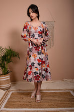Load image into Gallery viewer, Liana Square Neckline Flared Dress