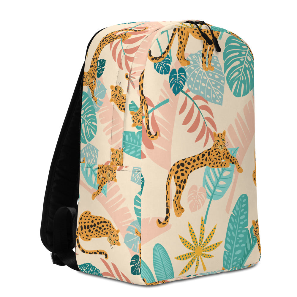 Wes Anderson Inspired Safari Backpack | Dog & Shark | Funny Gift Ideas