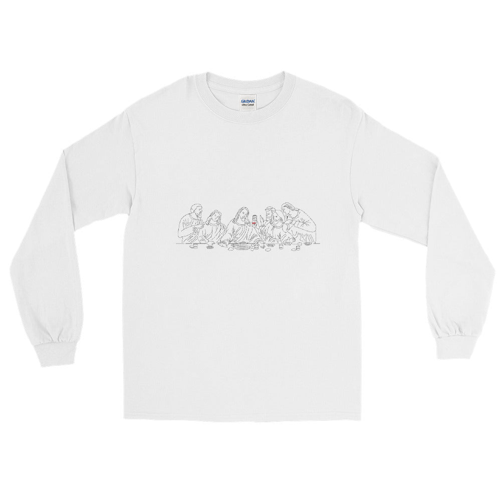 The Last White Claw Long Sleeve Shirt | Dog & Shark | Funny Gift Ideas