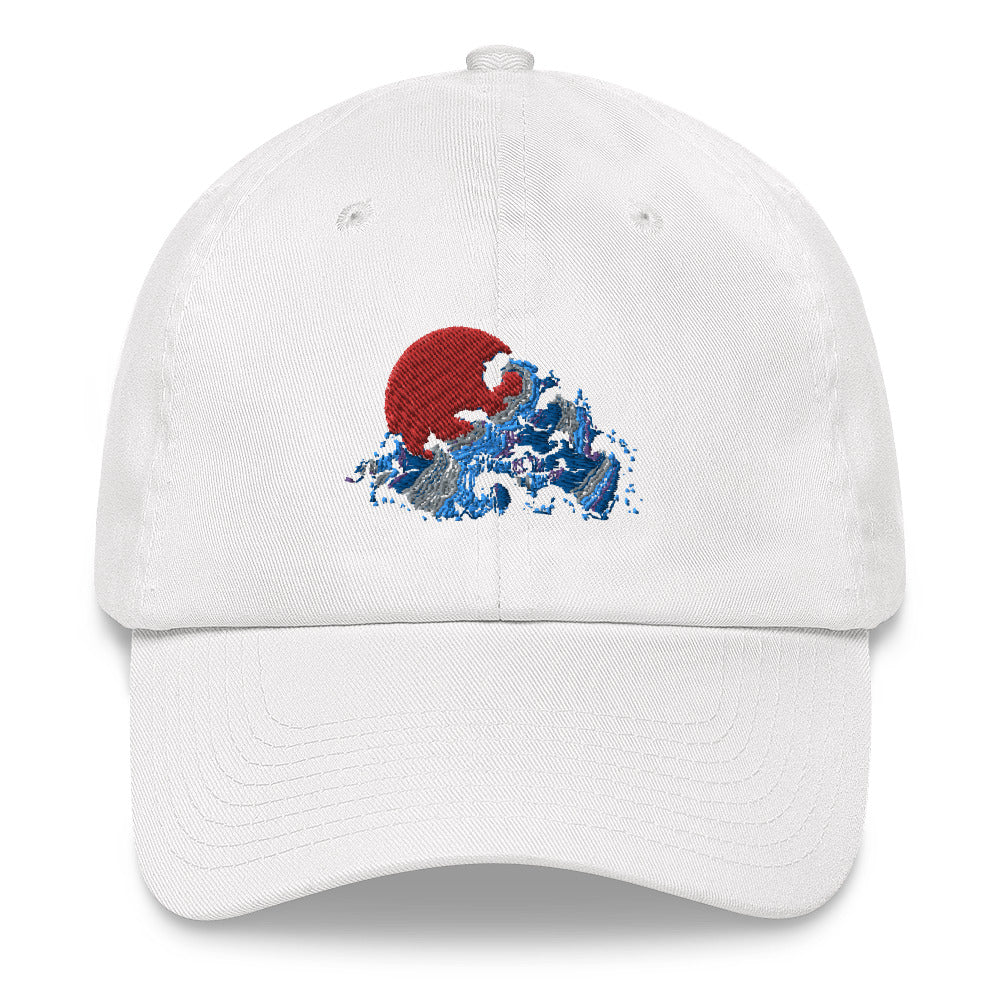 Japanese Wave Hat | Dog & Shark | Funny Gift Ideas