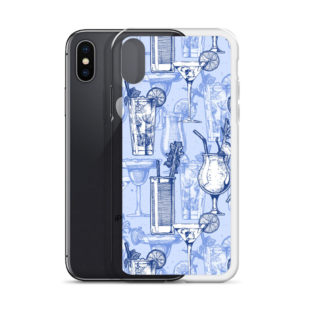 Mai Tai and Mojito Blue iPhone Case (Generations 6 - 11) | Dog & Shark | Funny Gift Ideas