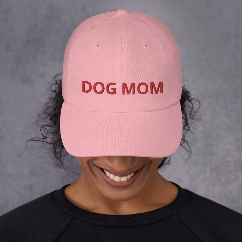 Dog Mom Classic Baseball Hat | Dog & Shark | Funny Gift Ideas