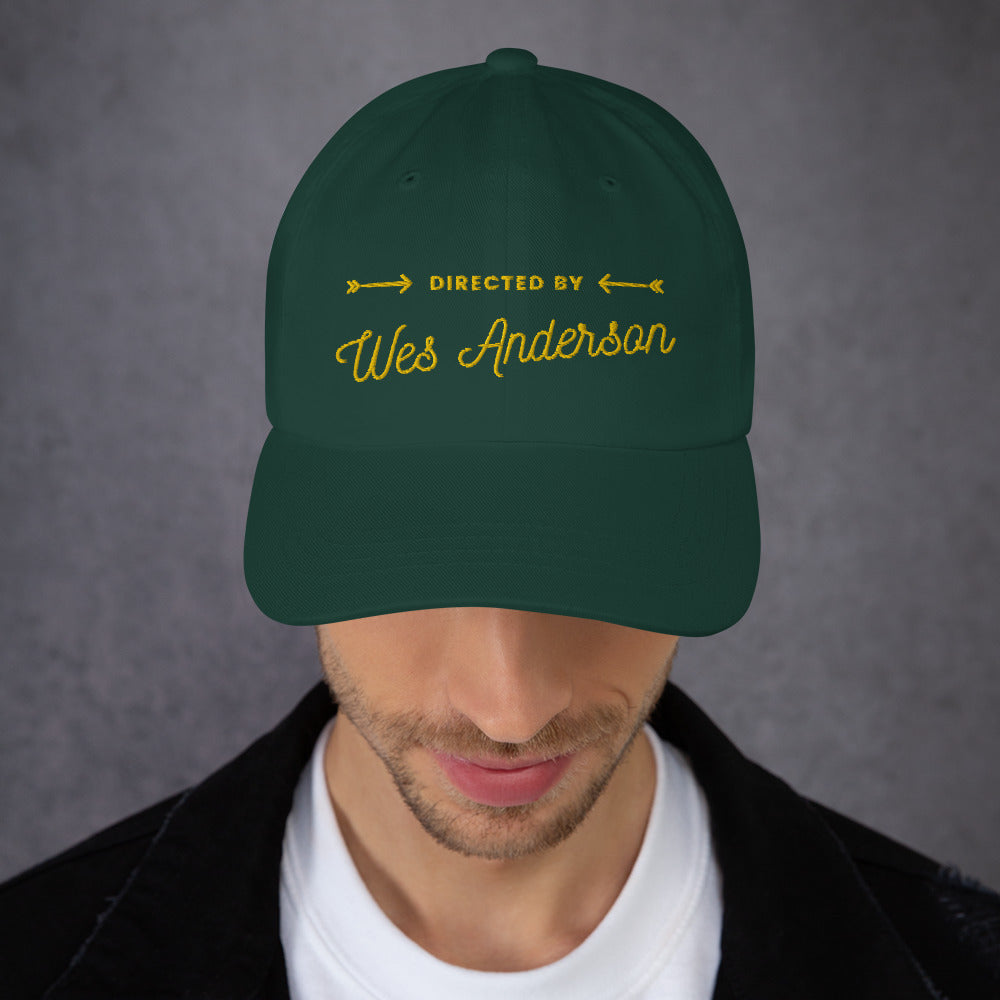 Directed by Wes Anderson Hat | Dog & Shark | Funny Gift Ideas