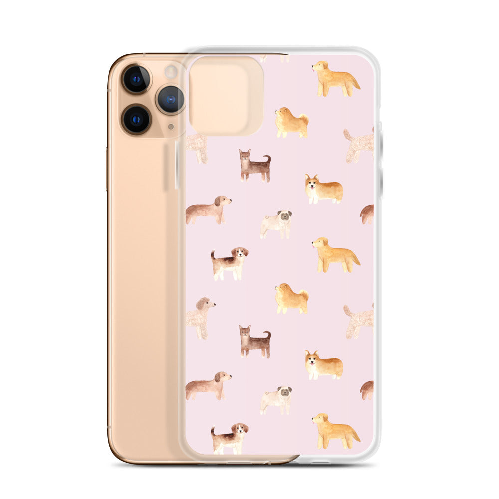 Corgi, Poodle, Bulldog, Golden Retriever Puppies iPhone Case | Dog & Shark | Funny Gift Ideas
