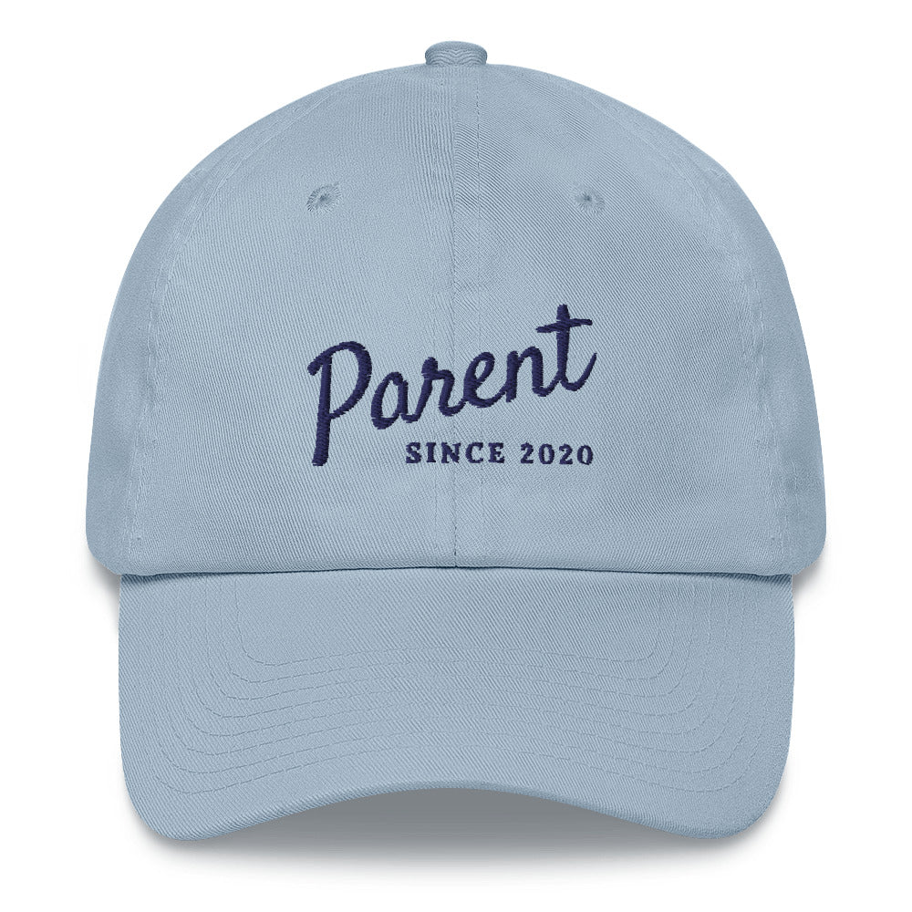 New Parent 2020 Embroidered Hat | Dog & Shark | Funny Gift Ideas