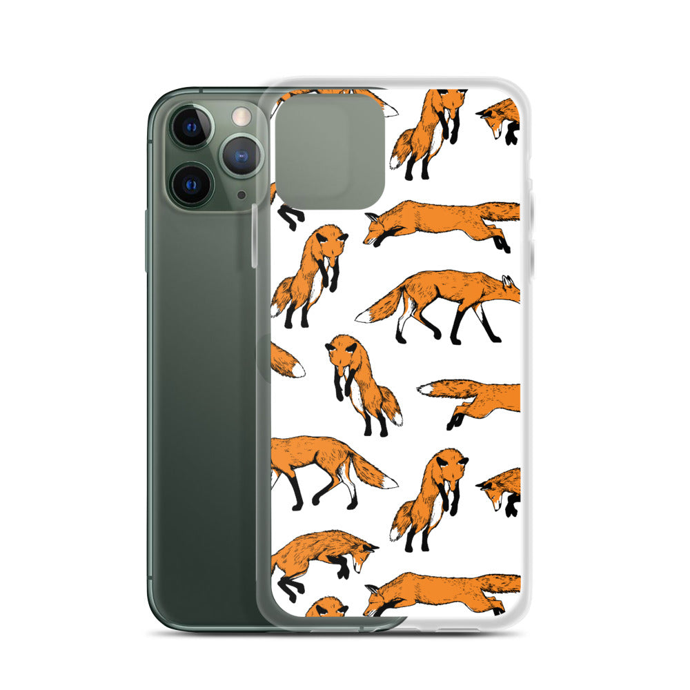 Fantastic Mr. Fox iPhone Case (Generations 6 - 11) | Dog & Shark | Funny Gift Ideas